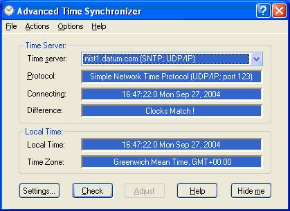 Скачать Advanced Time Synchronizer v.4.2.806