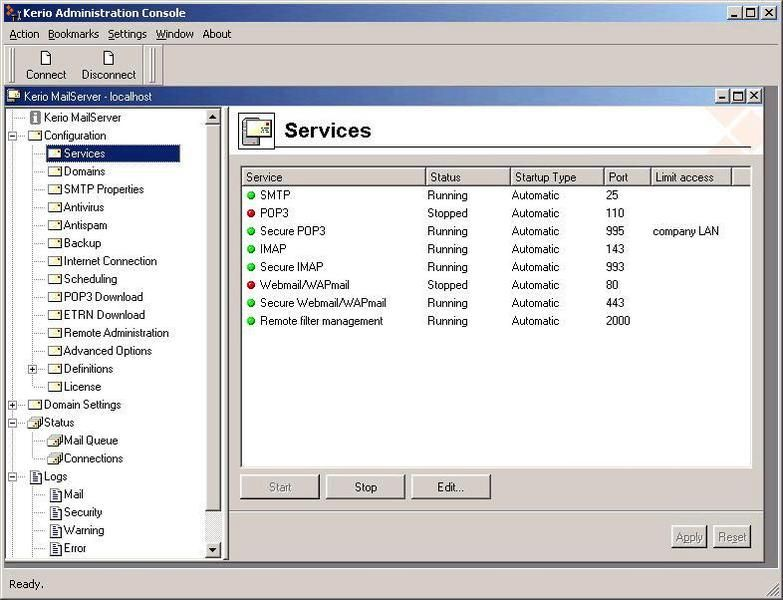 Скачать Kerio Connect v.9.0.0 Build 291